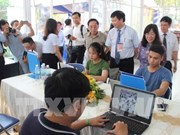 Inauguran centro de prensa internacional para el Festival Hue