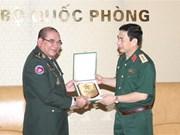 Vietnam y Camboya por promover cooperación entre fuerzas guardafronteras