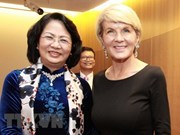 Vietnam aspira a impulsar nexos con Australia, reafirma vicepresidenta Ngoc Thinh