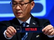 Vietnam topará con Irán, Indonesia y la India en Campeonato Asiático de Fútbol