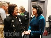Vicepresidenta de Vietnam continúa su amplia agenda en Australia
