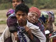 Myanmar: Miles de personas huyen por nuevos conflictos en estado de Kachin
