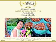 Vietnamita gana premios en Festival de cortometraje Top Shorts