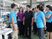 Confederación del Trabajo de Vietnam, sostén de los trabajadores nacionales