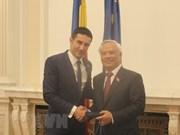Vietnam a favor de impulsar nexos multifacéticos con Rumanía