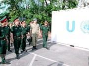 Hospital de campaña de Vietnam listo para misión de paz de ONU