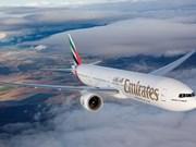 Vietnam exime el impuesto de importación para Emirates Airline