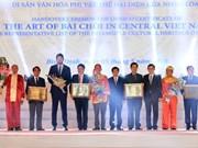 Arte vietnamita de Bai Choi recibe reconocimiento de Patrimonio Cultural Intangible de la Humanidad