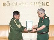 Vietnam concede importancia a cooperación con Myanmar en el sector de defensa