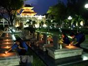 Jóvenes vietnamitas recuerdan victoria de la batalla de Dien Bien Phu