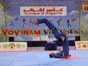 Concluye en Argelia competencia de arte marcial vietnamita Vovinam