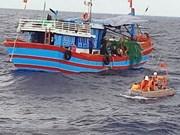  Rescatan a marineros accidentados en aguas de provincia vietnamita de Ba Ria- Vung Tau