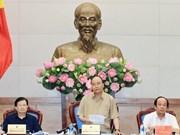 Premier vietnamita insta a enfrentar deslizamientos de tierra en el Delta del Río Mekong