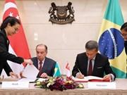 Brasil y Singapur firman acuerdo de doble tributación