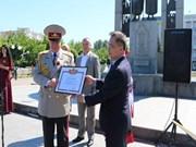Veteranos vietnamitas y ucranios celebran Día de la Victoria