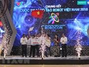 LH-ATM gana Concurso de Robótica de Vietnam 2018