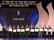 Entregan premio de Innovación científico-tecnológica en Vietnam