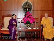 Ciudad Ho Chi Minh aprecia aportes de seguidores budistas municipales