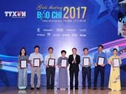 Premios de prensa de la VNA destacan creatividad de periodistas en era digital