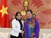 Vicepresidenta del Parlamento de Vietnam resalta cooperación juvenil con Cuba