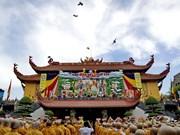 Jefa de movilización de masas de Vietnam felicita a dignatario budista en Día de Vesak