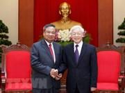 Refuerzan nexos partidistas Vietnam-Laos