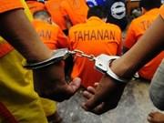 Indonesia construye celdas especiales para presos terroristas