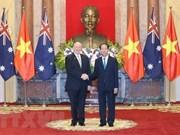 Australia aspira a profundizar la asociación estratégica con Vietnam