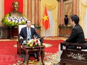 Presidente de Vietnam destaca relaciones con Japón