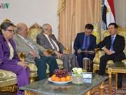 Vietnam y Egipto se proponen agilizar lazos partidistas y multifacéticos