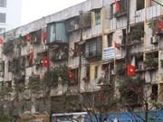 Rescate de edificios antiguos prácticamente detenidos en Vietnam por múltiples causas