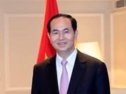 Presidente de Vietnam parte de Hanoi para visita a Japón