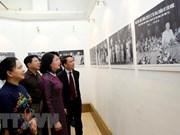 Inauguran exposición fotográfica sobre movimiento de emulación patriótica