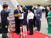 Presidente vietnamita llega a Japón para iniciar visita estatal