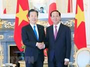 Presidente vietnamita se reúne con el titular del Partido Komei de Japón