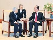 Visita del presidente vietnamita sigue acaparando atención de medios japoneses