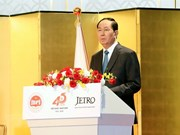 Presidente de Vietnam reconoce contribución de la Unión de Parlamentarios a nexos con Japón