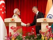 India y Singapur acuerdan potenciar cooperación en economía y defensa
