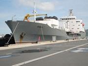 Buques de la Armada rusa llegan al puerto de Cam Ranh para iniciar visita a Vietnam