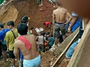 Al menos cinco mineros murieron en deslizamiento de tierra en Indonesia