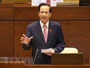 Formación profesional centra interpelaciones a ministro de Trabajo de Vietnam