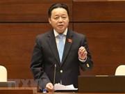 Parlamentarios vietnamitas satisfechos con interpelación del ministro de Recursos Humanos y Medio Ambiente