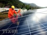 Comienzan construcción de granja solar Gelex Ninh Thuan