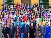 Presidente de Vietnam resalta aportes de diputadas al desarrollo nacional