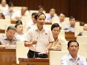 Diputados vietnamitas elogian interpelaciones de ministros en quinto período de sesiones del Parlamento