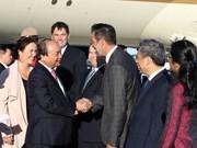 Premier de Vietnam llega a Quebec para asistir a Cumbre de G7 y visitar Canadá