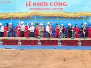 Inician construcción de mayor planta fotovoltaica de Vietnam