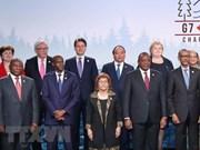 Premier vietnamita interviene en Cumbre ampliada del G7