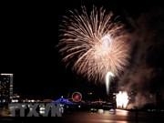 Festival internacional de fuegos artificiales en Da Nang seduce a espectadores