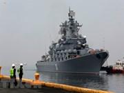 Buques de guerra rusos llegan a Filipinas
